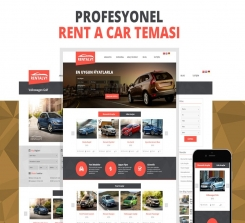 WordPress Rent A Car Teması
